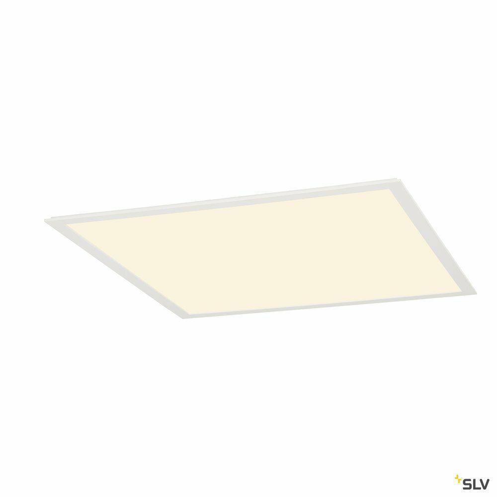 LED PANEL, Deckenein- und aufbauleuchte, 3000K, eckig, weiß matt, L/B/H 61,7/61,7/1,5 cm, 39,5W, für Rasterdecken