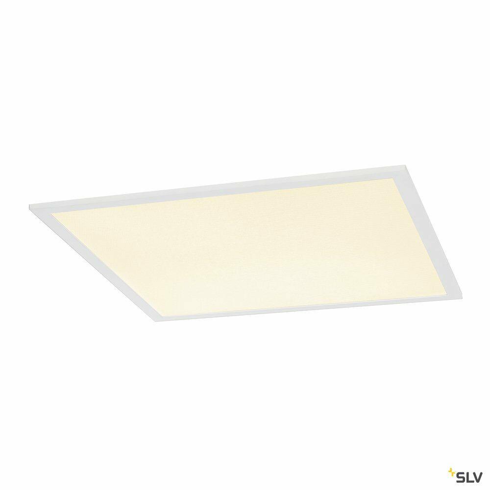 I-VIDUAL, Einbauleuchte, LED, 3000K, weiß, für Rasterdecken, L/B/H 59,5/59,5/1,3 cm, 35W