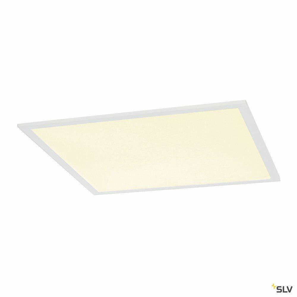 I-VIDUAL, Einbauleuchte, LED, 4000K, weiß, für Rasterdecken, L/B/H 59,5/59,5/1,3 cm, 35W