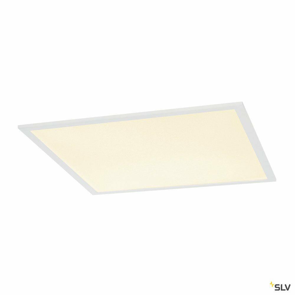 I-VIDUAL, Einbauleuchte, LED, 3000K, weiß, für Rasterdecken, L/B/H 61,7/61,7/1,3 cm, 35W