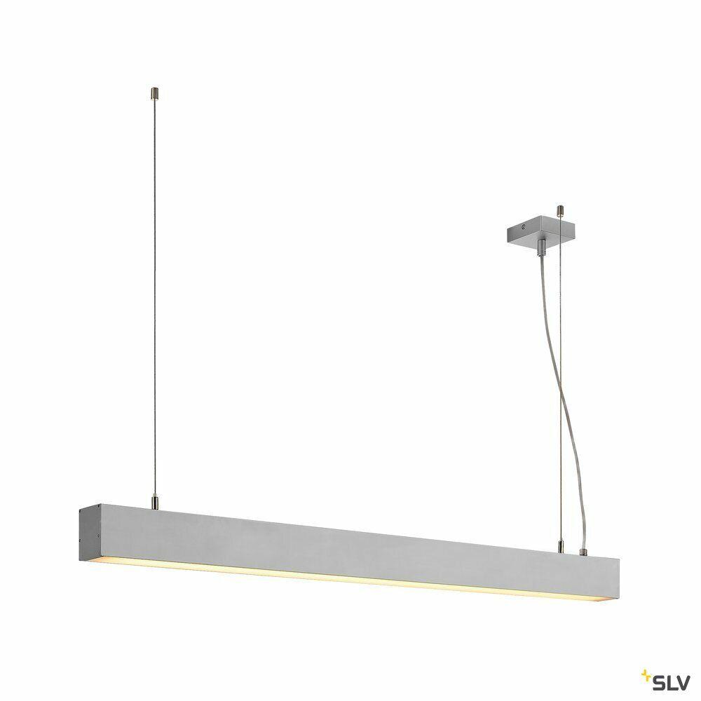 GLENOS, Profilpendelleuchte, LED, 3000K, aluminium eloxiert, 1 m, 43W