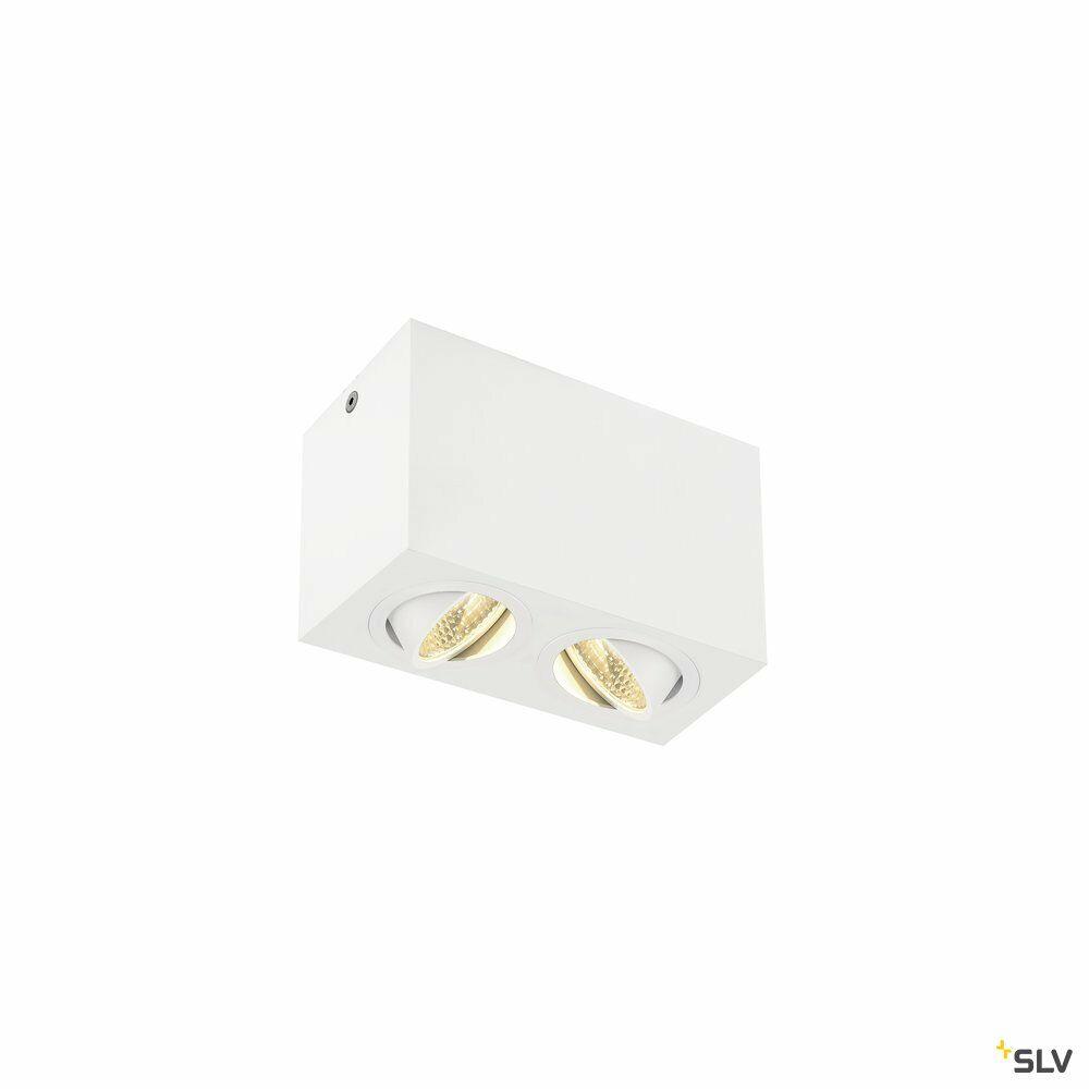 TRILEDO Double, LED Indoor Deckenaufbauleuchte, weiß, 3000K, 16W