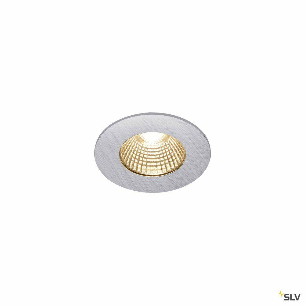 PATTA-I, LED Outdoor Deckeneinbauleuchte, rund DL IP65 silber 1800-3000K