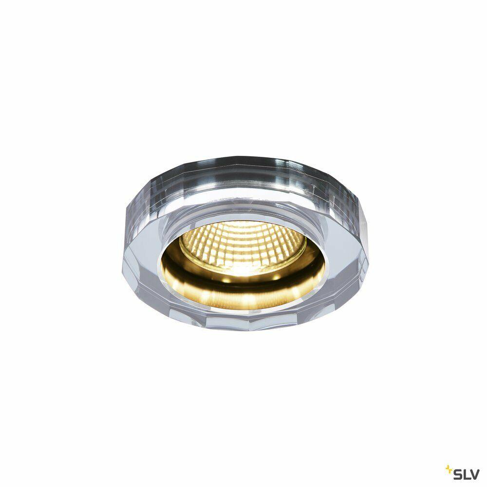 CRYSTAL DL, LED Indoor Deckeneinbauleuchte, klar, 1800-3000K