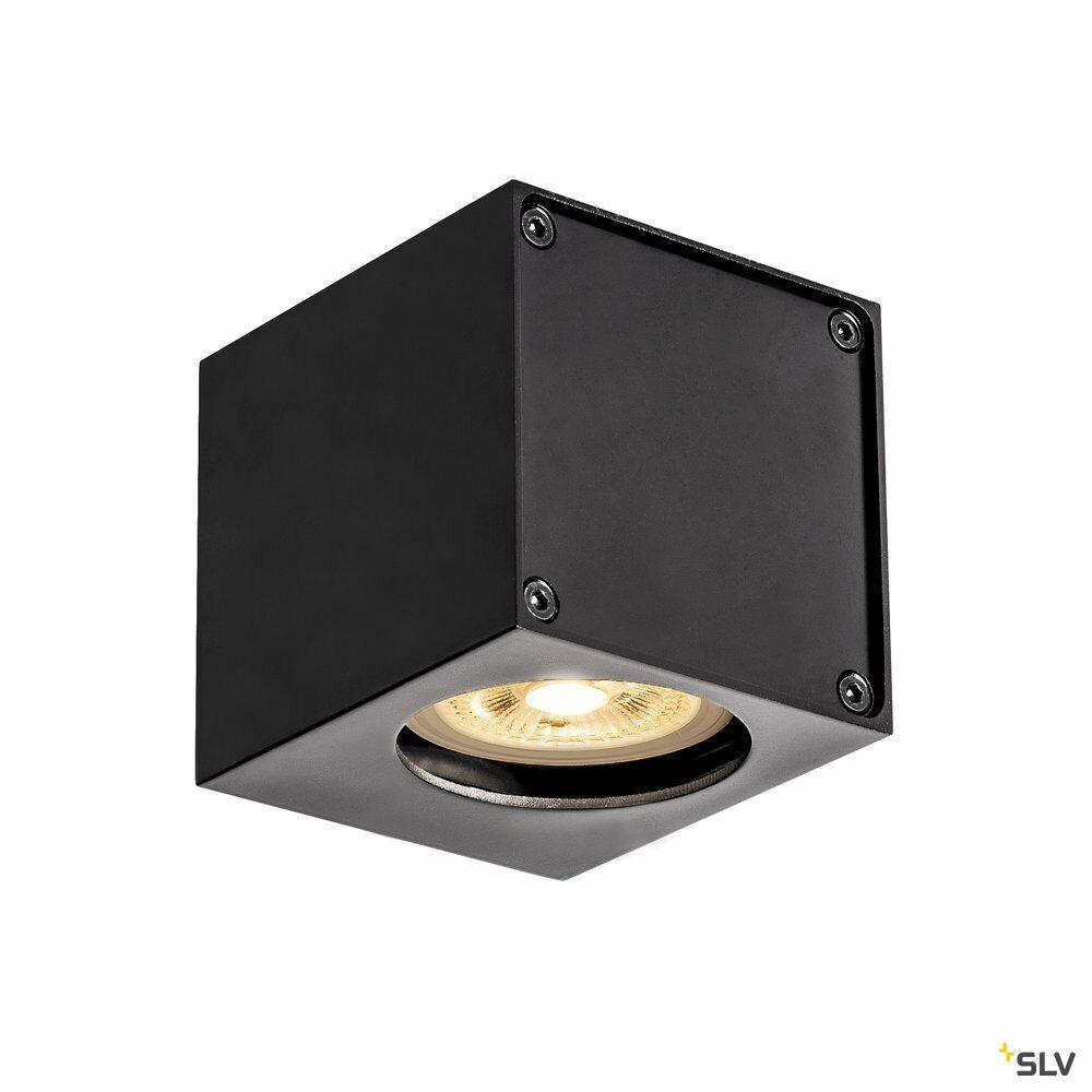 ALTRA DICE WL, Indoor Wandaufbauleuchte, QPAR51, schwarz