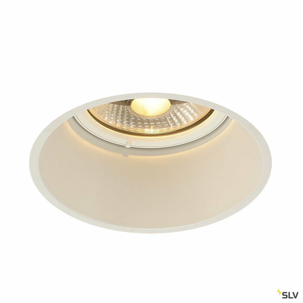 HORN-T, Einbauleuchte, QPAR111,  rund, weiß, 75 W max.
