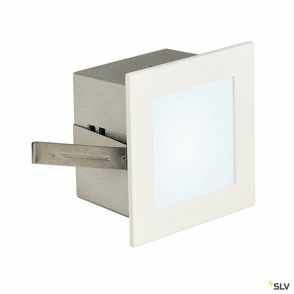 FRAME BASIC, Einbauleuchte, LED, 4000K, eckig, weiß matt, inkl. Blattfedern