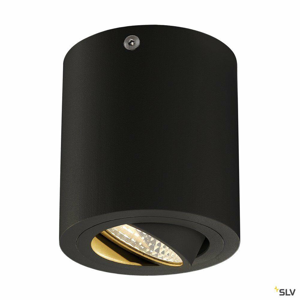 TRILEDO ROUND CL, Deckenleuchte, LED, 3000K, rund, schwarz matt, 38°, 6,2W, inkl. Treiber