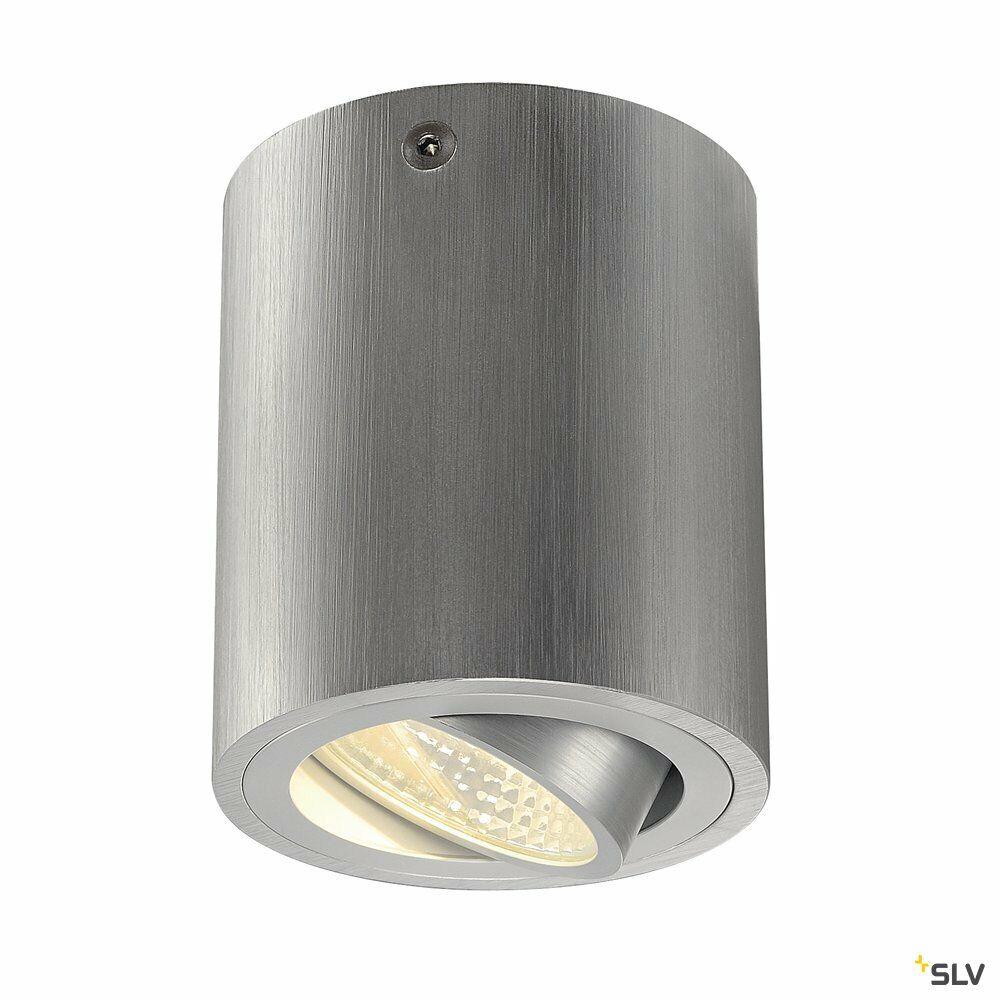 TRILEDO ROUND CL, Deckenleuchte, LED, 3000K, rund, aluminium gebürstet, 38°, 8,2W, inkl. Treiber