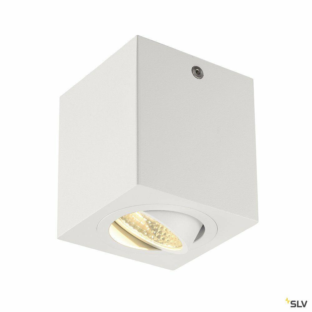 TRILEDO SQUARE CL, Deckenleuchte, LED, 3000K, eckig, weiß, 38°, 8,2W, inkl. Treiber