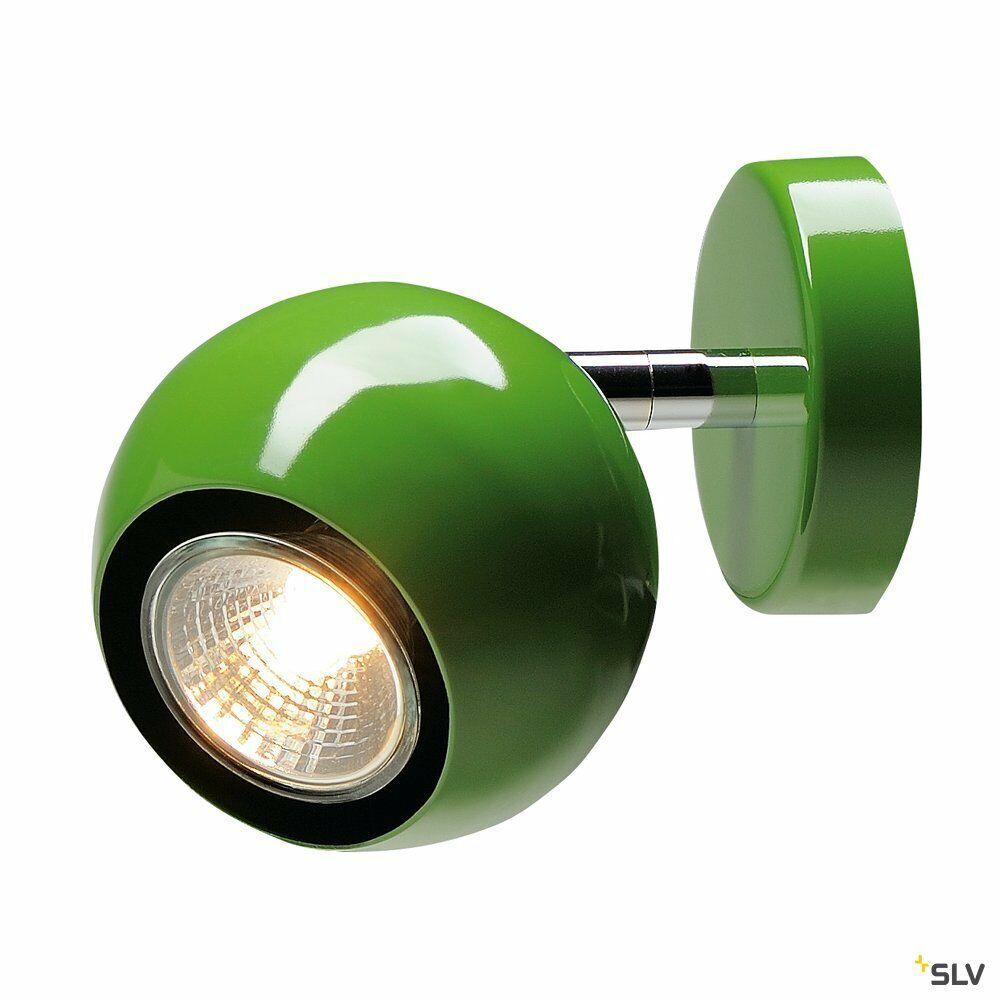 LIGHT EYE 1, Wand- und Deckenleuchte, einflammig, QPAR51, farngrün, max. 50W