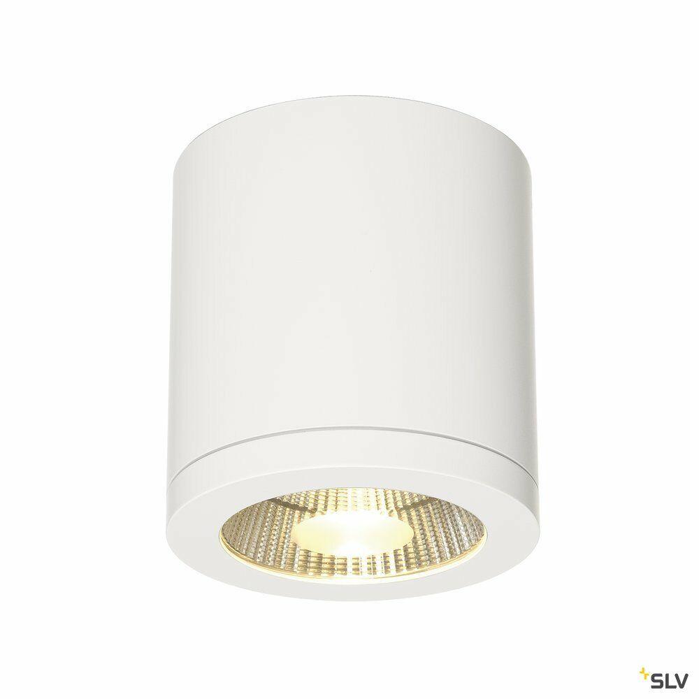 ENOLA_C, Deckenleuchte, LED, 3000K, rund, weiß, 35°