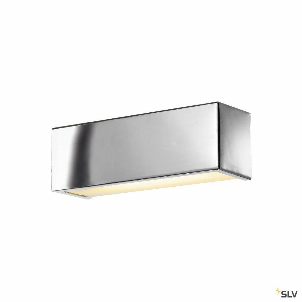CHROMBO, Wandleuchte, LED, 3000K, chrom, L/B/H 30,1/9/10,1 cm, 9,7W