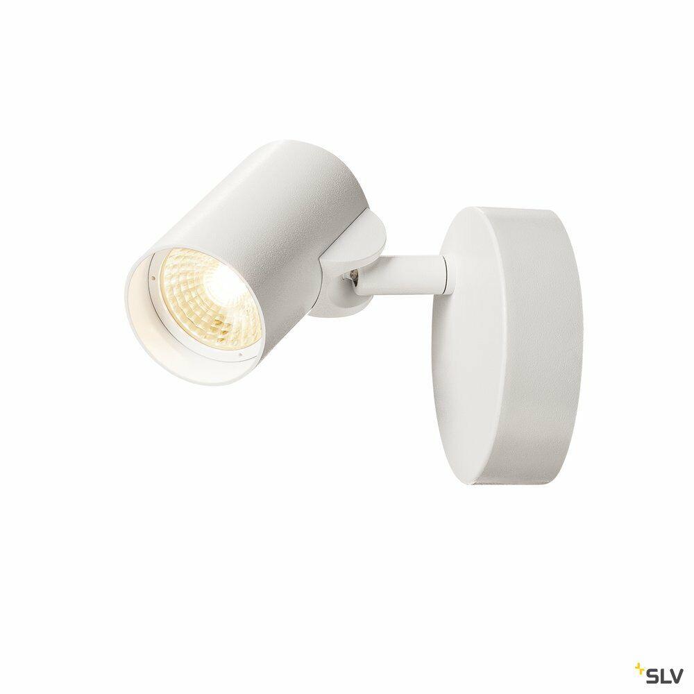 HELIA, Wand- und Deckenleuchte, einflammig, LED, 3000K, 35°, weiß