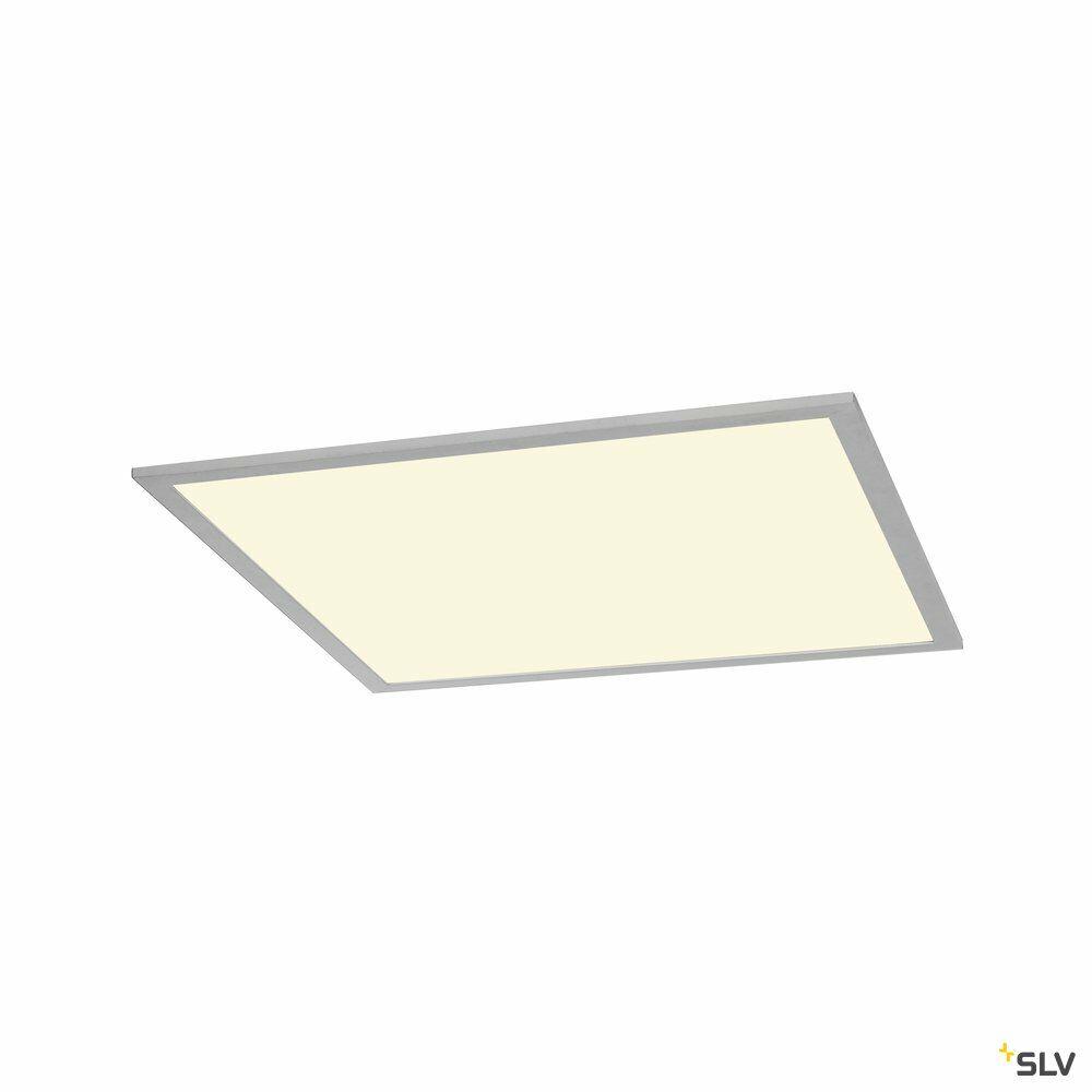 I-VIDUAL, LED-Panel für Rasterdecken, 4000K, silbergrau, L/B 59,5/59,5 cm