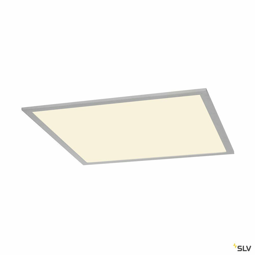 I-VIDUAL, LED-Panel für Rasterdecken, 3000K, silbergrau, L/B 61,7/61,7 cm