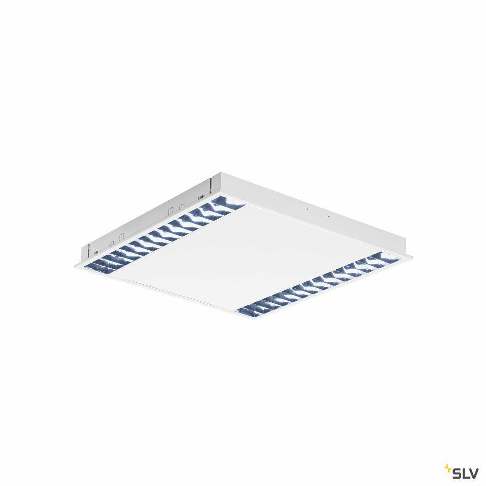 RASTO, Deckeneinbauleuchte für Rasterdecken, LED, 4000K, weiß, L/B 59,6/59,6 cm, 4000lm, 39W