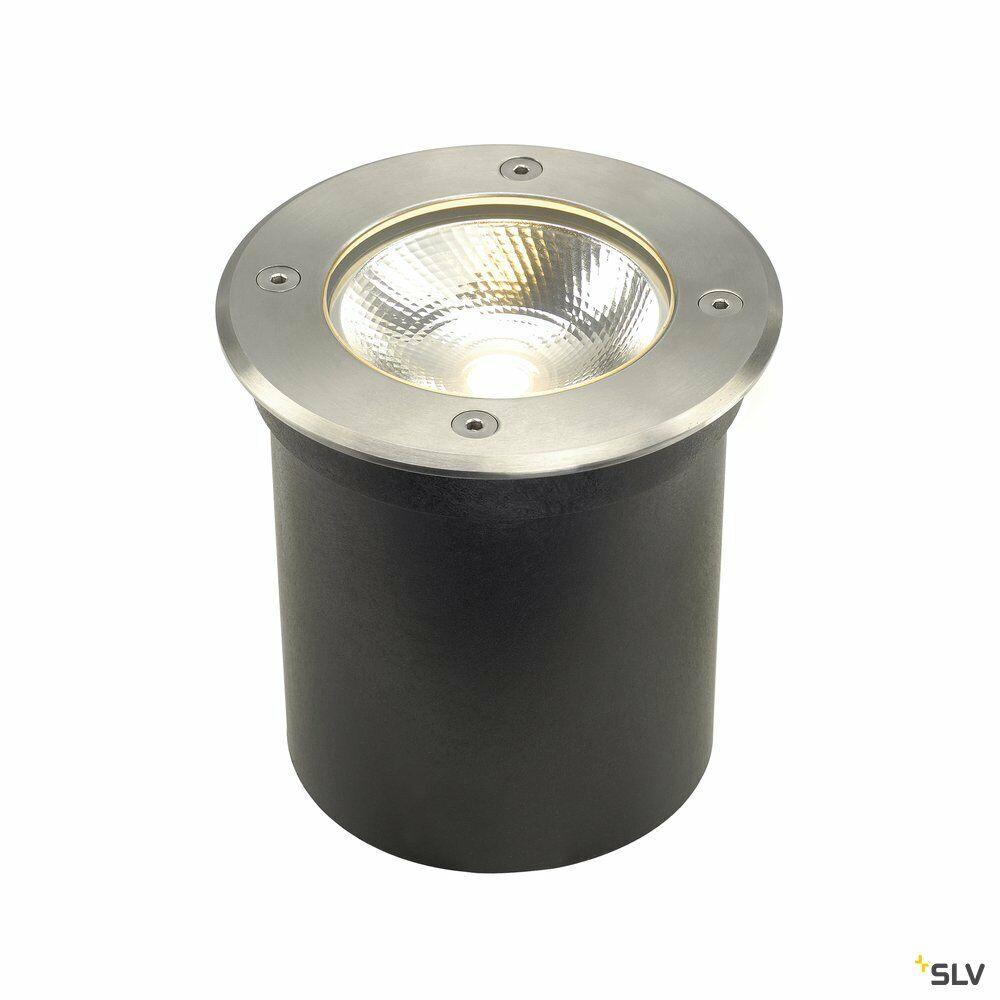 ROCCI 125, Outdoor Bodeneinbauleuchte, LED, 3000K, IP67, rund, edelstahl 316, max. 6W
