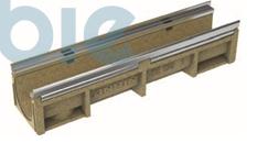 Kantenschutzrinnen KE-150  mit verzinkter Stahlzarge