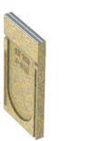 KE-150 Stirnwand geschlossen Edelstahlzarge für die Rinne Nr. 150P, PR