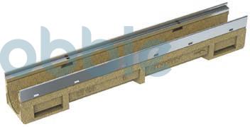 Kantenschutzrinnen KE-100  mit verzinkter Stahlzarge