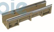 Kantenschutzrinnen KE-150  mit Edelstahlzarge