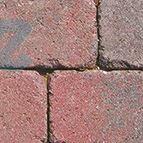 Altländer Hofpflaster® Antik Normalstein Rot/Schwarz Nuanciert 21/24 - 208 x 138 x 60