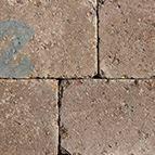 Basalit® Antik Quadratstein Terrabraun 14/14 - 138 x 138 x 80