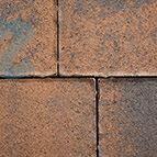 Altländer Hofpflaster® Normalstein Braun/Schwarz Nuanciert 21/24 - 208 x 138 x 60