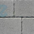 Altländer Hofpflaster® Normalstein Naturgrau 21/24 - 208 x 138 x 60