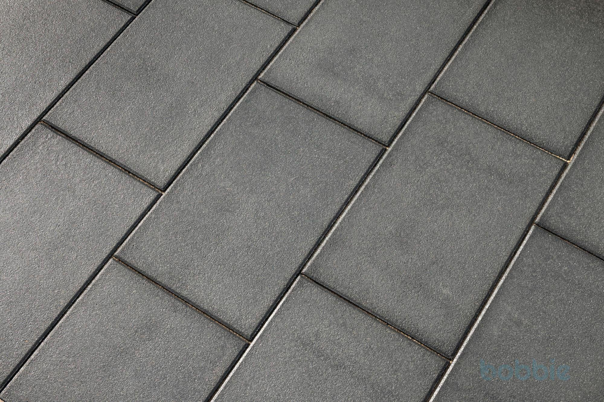 DIEPHAUS Terrassenplatte RUSTICA SCHWARZ-BASALT 60/40/4 CM
