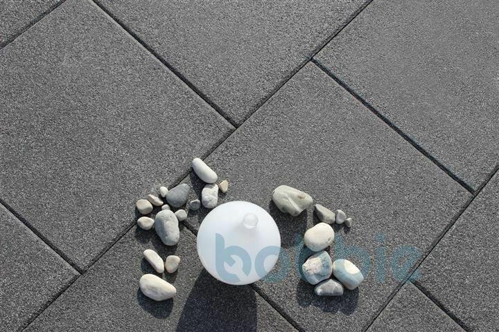 DIEPHAUS Terrassenplatte RUSTO BASALT 40/40/4 CM PE2