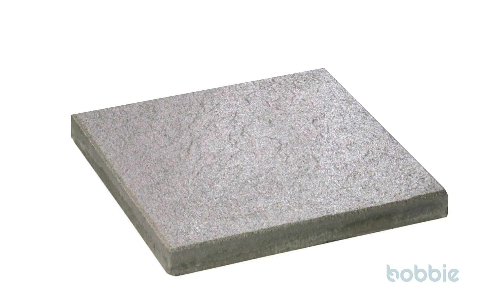 DIEPHAUS Terrassenplatte DIE BELGISCHE MITTELGRAU 40/40/4 CM