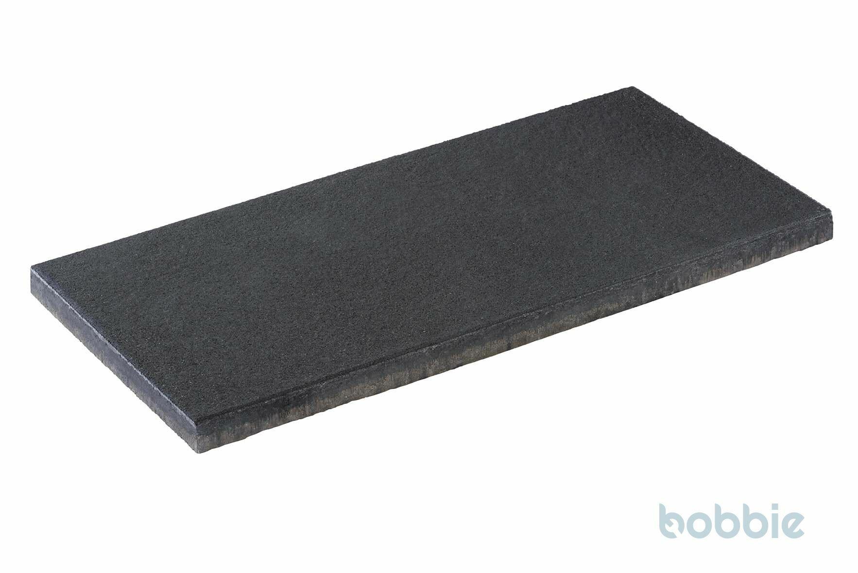 DIEPHAUS Terrassenplatte DIE BELGISCHE SCHWARZ-BASALT 80/40/4 CM