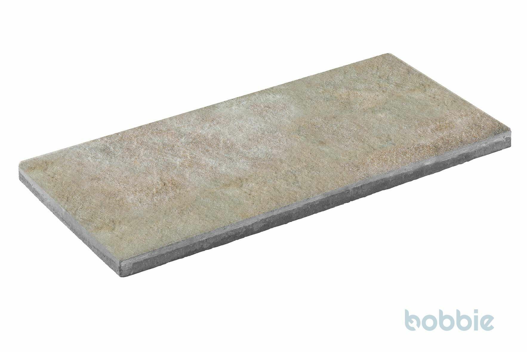DIEPHAUS Terrassenplatte DIE BELGISCHE MUSCHELKALK 80/40/4 CM
