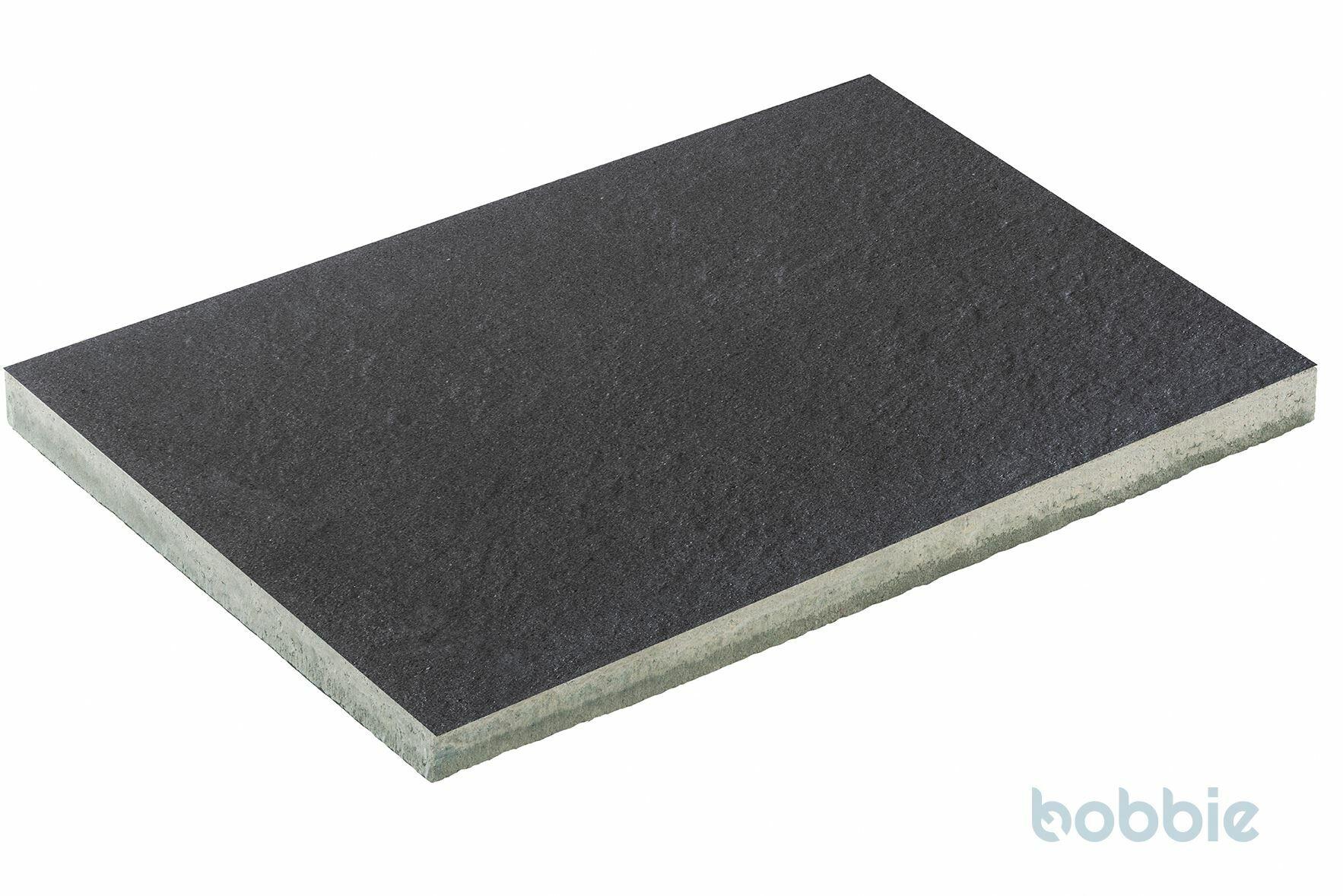 DIEPHAUS Terrassenplatte DIE BELGISCHE SCHWARZ-BASALT 60/40/4 CM