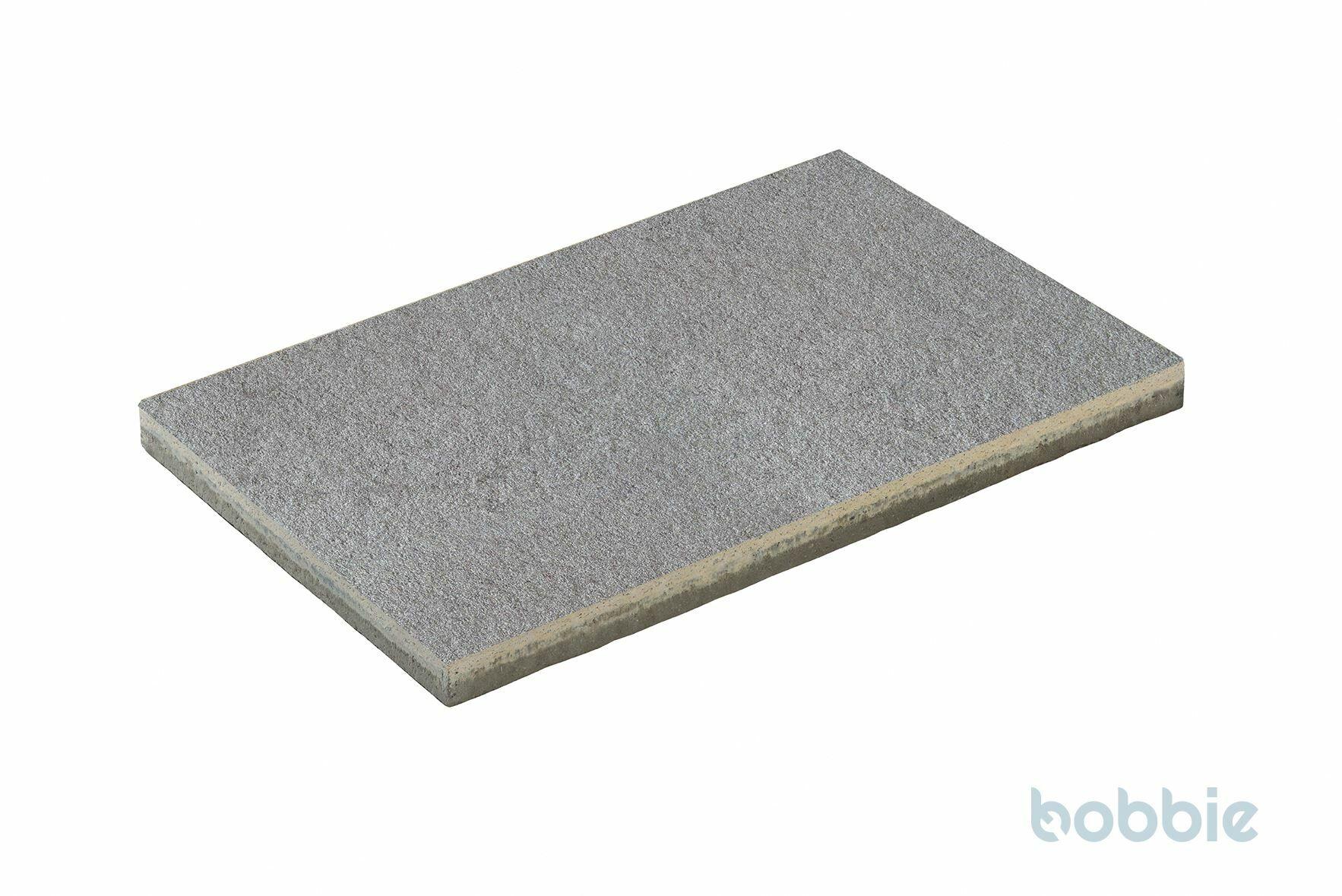 DIEPHAUS Terrassenplatte DIE BELGISCHE MITTELGRAU 60/40/4 CM