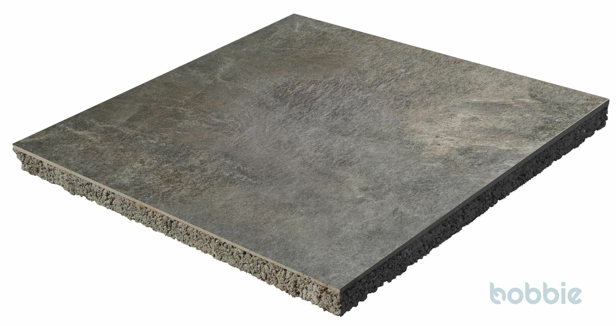 DIEPHAUS Terrassenplatte CERATIO BASALT 60/60/4 CM