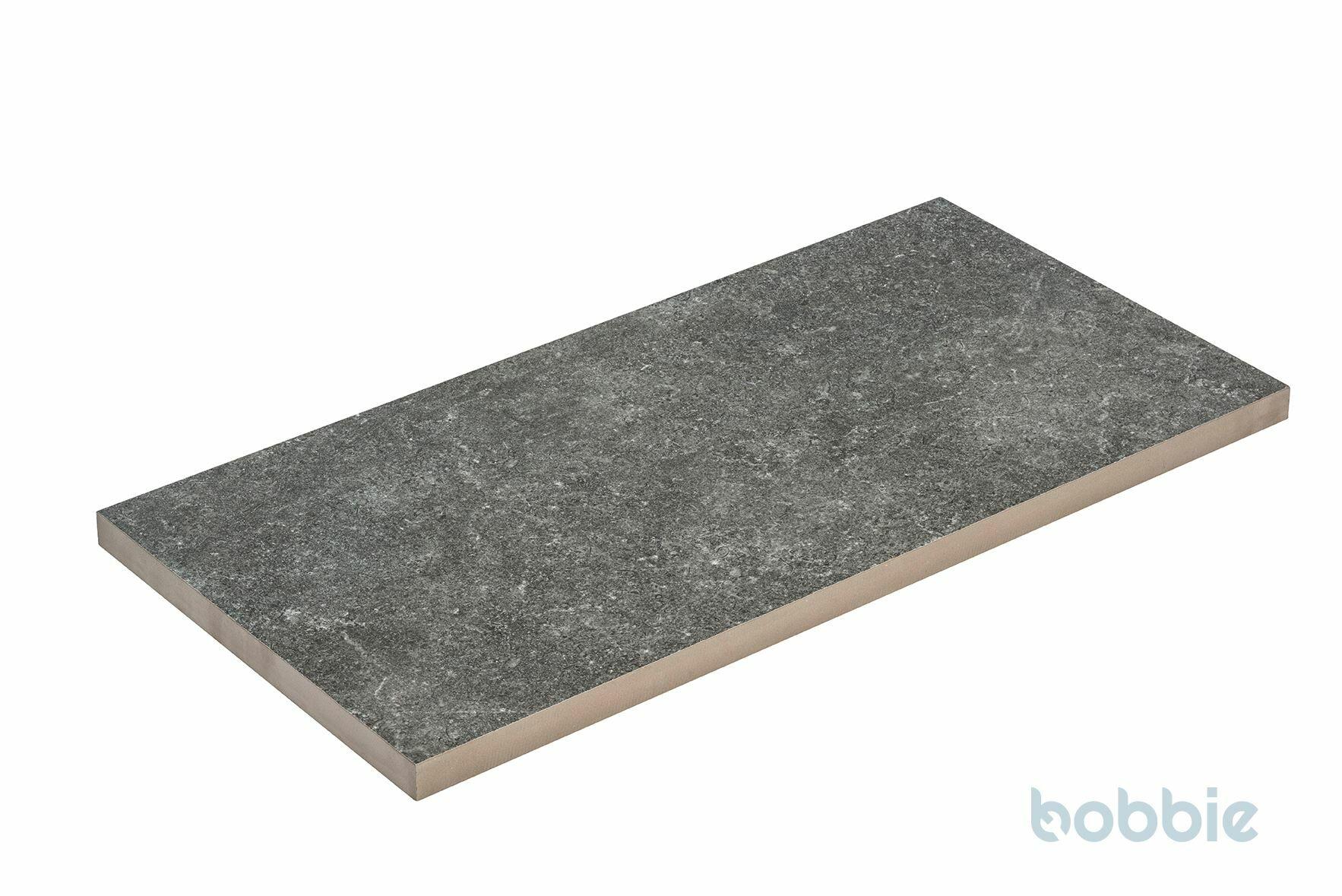 DIEPHAUS Terrassenplatte CERAMIA BASALT 80/40/3 CM