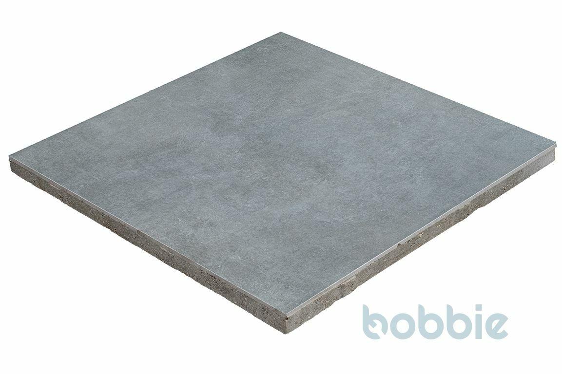 DIEPHAUS Terrassenplatte CERATIO CONCRETO BASALT 60/60/4 CM
