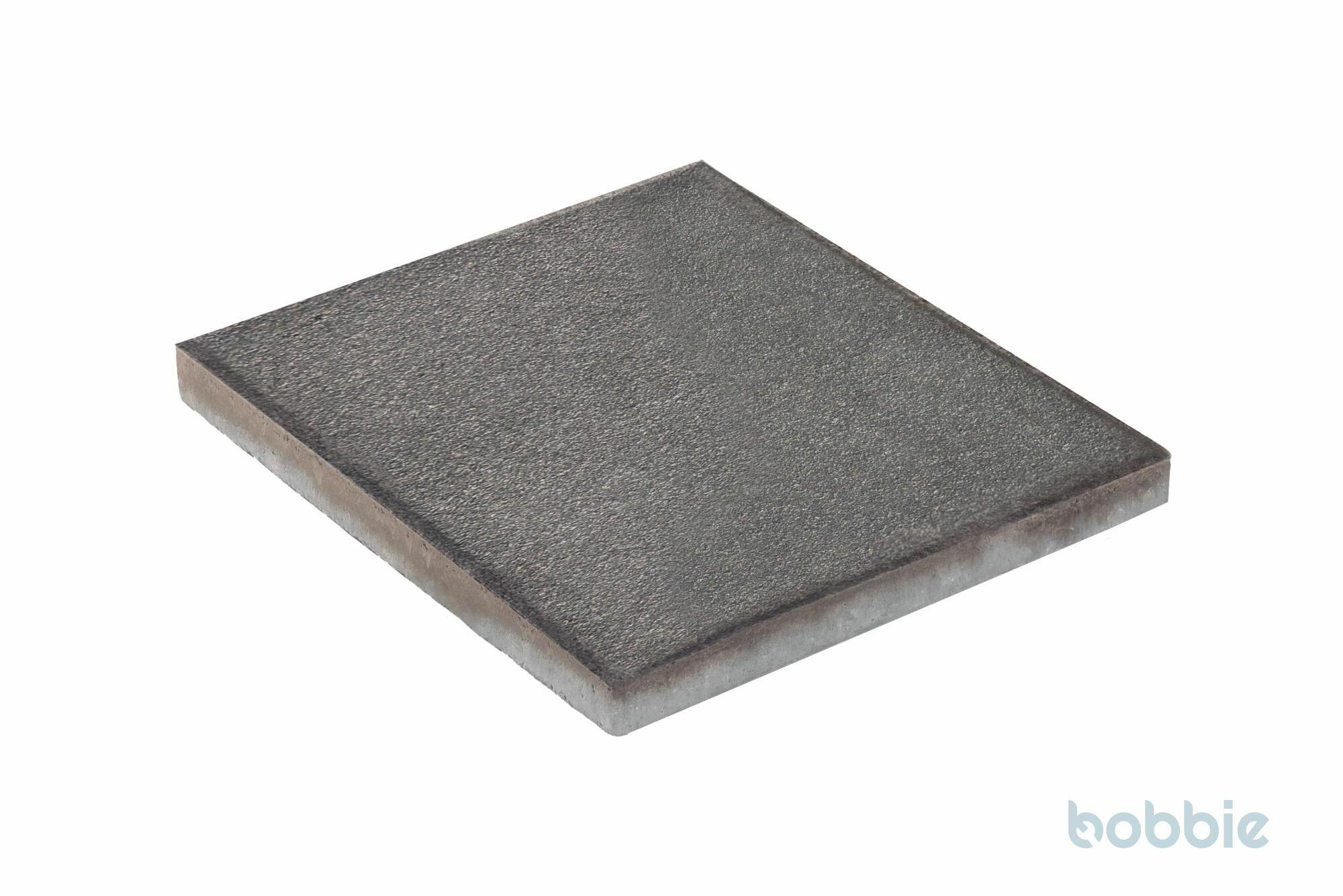 DIEPHAUS Terrassenplatte RUSTICA SCHWARZ-BASALT 40/40/4 CM