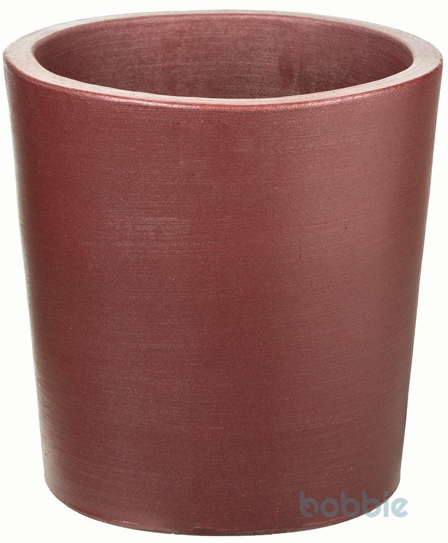 Blumentopf runde Vase modern - VASO ROTONDO MODERNE CM.40 - PREMIUM LIFE - RUBY