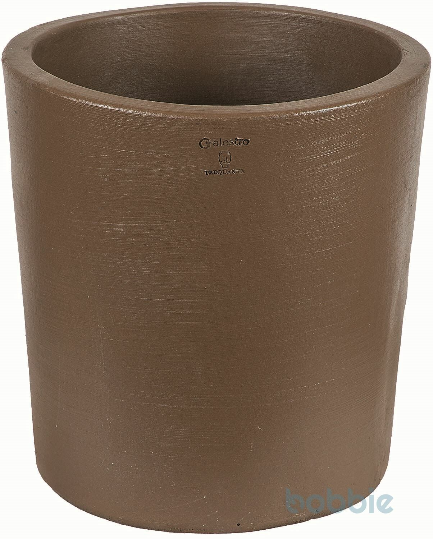 Blumentopf runde Vase modern - VASO ROTONDO MODERNE CM.40 - PREMIUM LIFE - EARTH
