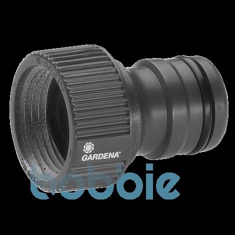 """GARDENA Profi-System-Hahnstück, 26,5 mm (G 3/4"""")-Wasserhahn mit 33,3 mm (G 1"""")-Gewinde"""