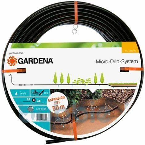 GARDENA Gardena Tropfrohr unterirdisch 13,7 mm Micro-Drip-System 50 m Erweiterungsset