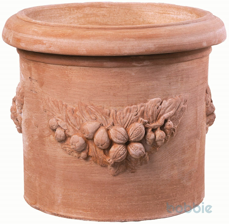 Blumentopf Zylinder festlich - CILINDRO FESTONATO - TREQUANDA