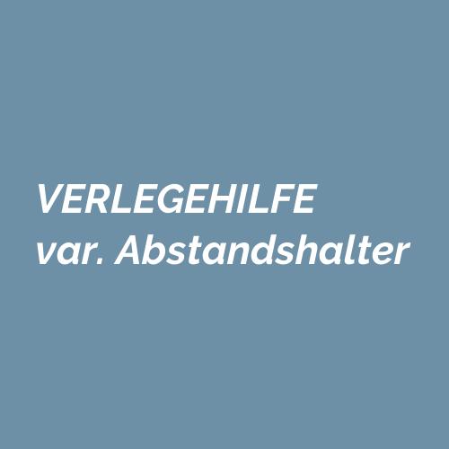 VERLEGEHILFE variable Abstandhalter m. Teller H: 12 mm Fugenbreite 3 mm