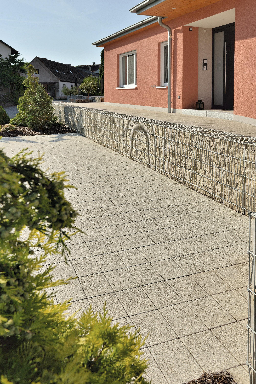 Großformat Pflasterstein NUEVA ferro Sandstein-Uni 300 x 200 x 80 mm