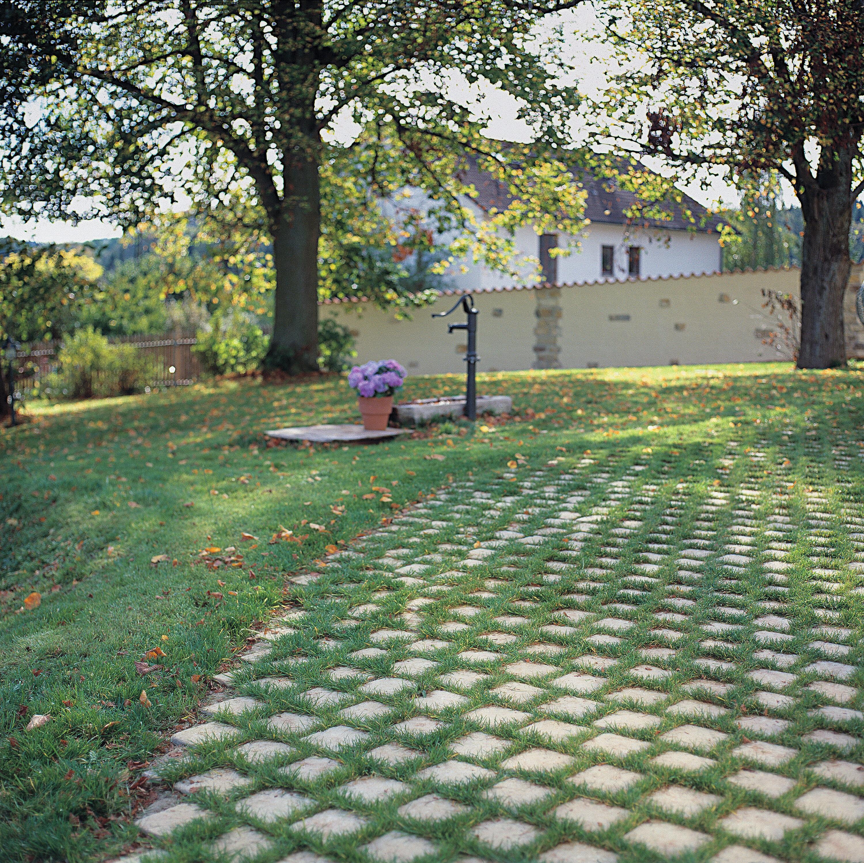 Pflasterstein VIASTON nativo Grau Fugenstein 210 x 175 x 100 mm 26 mm Fuge