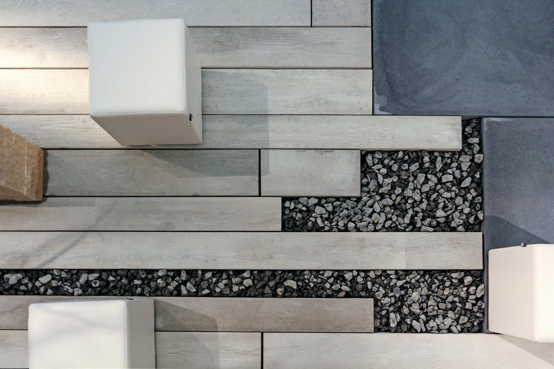 Terrassenplatte MASSIMO Diele Sichtbeton Grau gekalkt 2500 x 220 x 80 mm